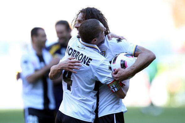 Y con un tanto de Cristian Zaccardo lo logró, para ganar por 1-0.