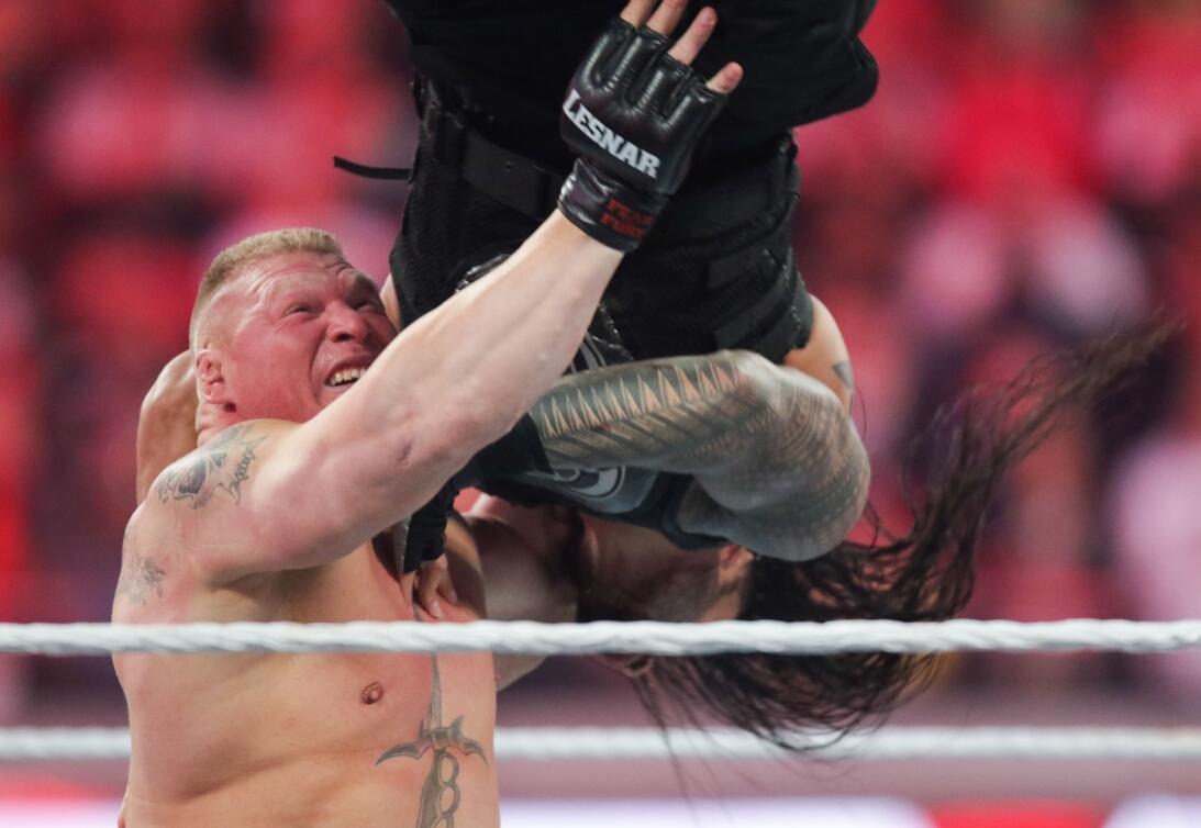 Ronda Rousey y Undertaker: íconos del Wrestlemania de WWE en 2018 ap-747...