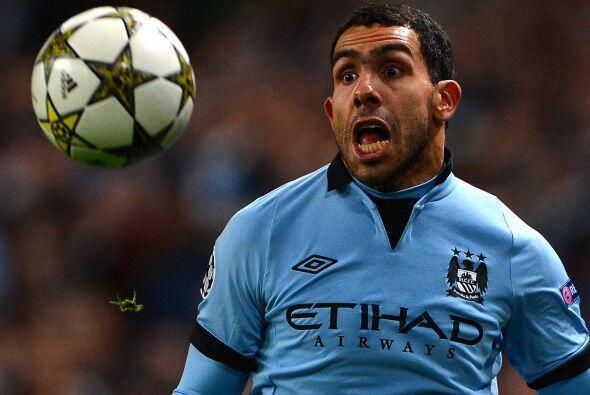 En el Manchester City están contentos con Carlos Tévez, pero como casi t...