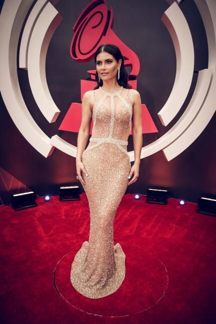 Chiquinquira Delgado Latin Grammy 2017 noviembre 16, MGM Grand Las Vegas...