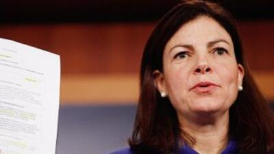 La Senadora Kelly Ayotte es la republicana de mayor rango en New Hampshi...