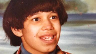 Eddie Velasquez, a los 20 años de edad, en una foto provista por...