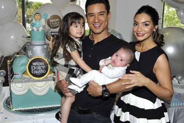"""La pareja organizó el """"baby shower"""" de su adorable nene de tan sólo dos..."""