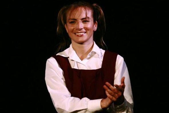 Silvia hizo comerciales cuando era niña y a los 18 años comenzó a trabaj...