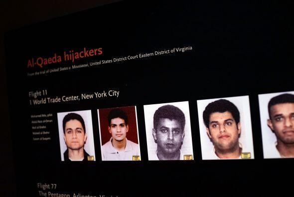 Fotos de algunos de los secuestradores del 11 de septiembre.