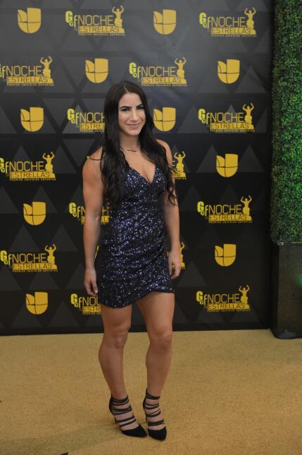 Tecia Torres demostró que además de ser una estrella del octágono de la...
