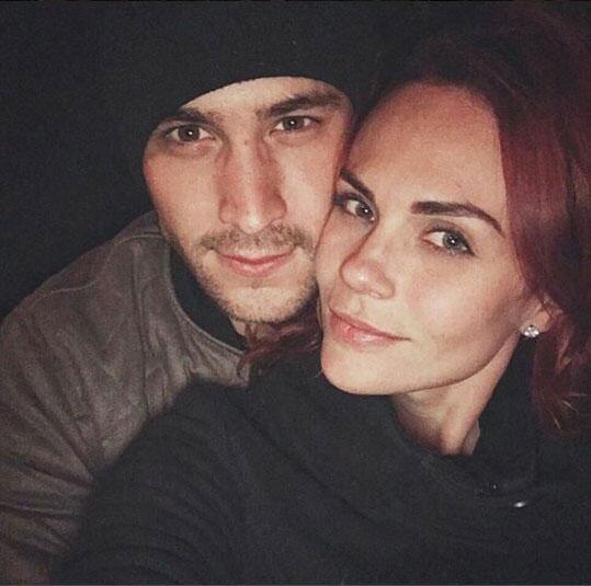 Laura Carmine y Roberto Romano