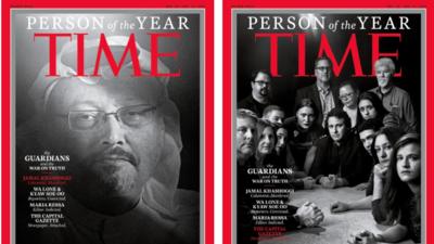 'Time' elige a Khashoggi y otros periodistas asesinados y perseguidos como Persona del Año 2018