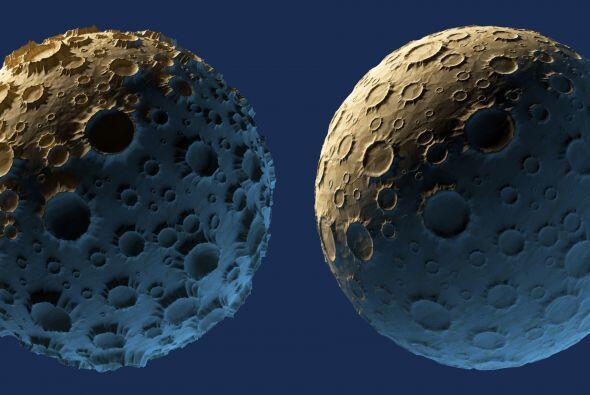 Urano también está rodeado por varios satélites. Ariel es uno de los 27...