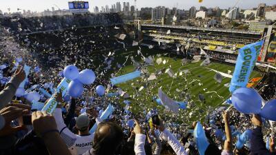 Estadios en Argentina