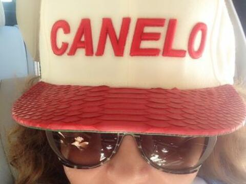 Jessica Maldonado viajó a Las Vegas para asistir a la pelea de Sa...