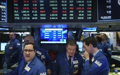 La caída de los indices llenó de nerviosismo el parqu&eacu...