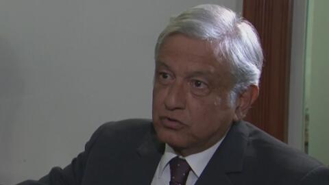 """Andrés Manuel López Obrador: """"A Trump no le va a funcionar su estrategia..."""