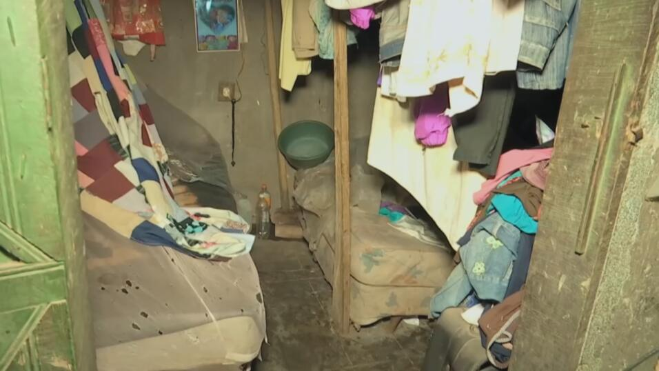 Este es el cuarto donde dormía Ronald durante su infancia en El Salvador...