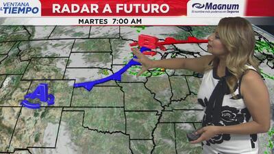 Ventana al Tiempo: Posibilidad de tormentas y lluvias aisladas este martes en Chicago