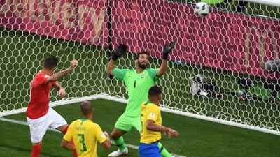 Así se ven los mejores momentos del empate a un gol entre Brasil y Suiza en 3D