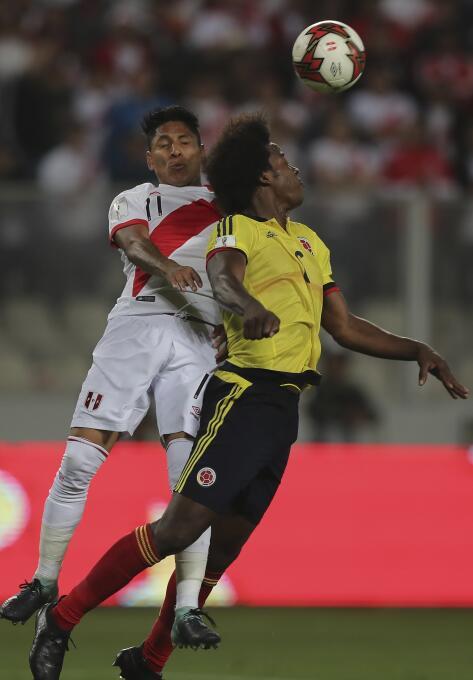 Raúl Ruidíaz (Perú): el delantero de los Monarcas se reportó en el juego...