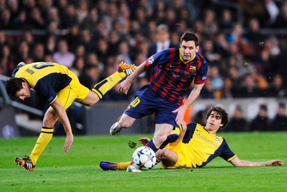 Lionel Messi, quien suele tener partidos impresionantes ante los 'Colcho...