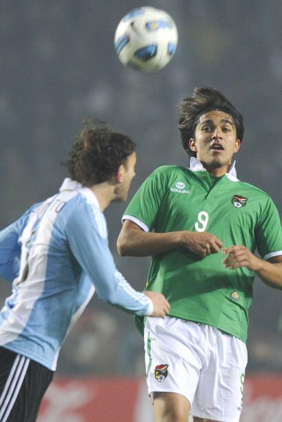 Martins, el líde de los bolivianos, es el mejor jugador de su selección,...