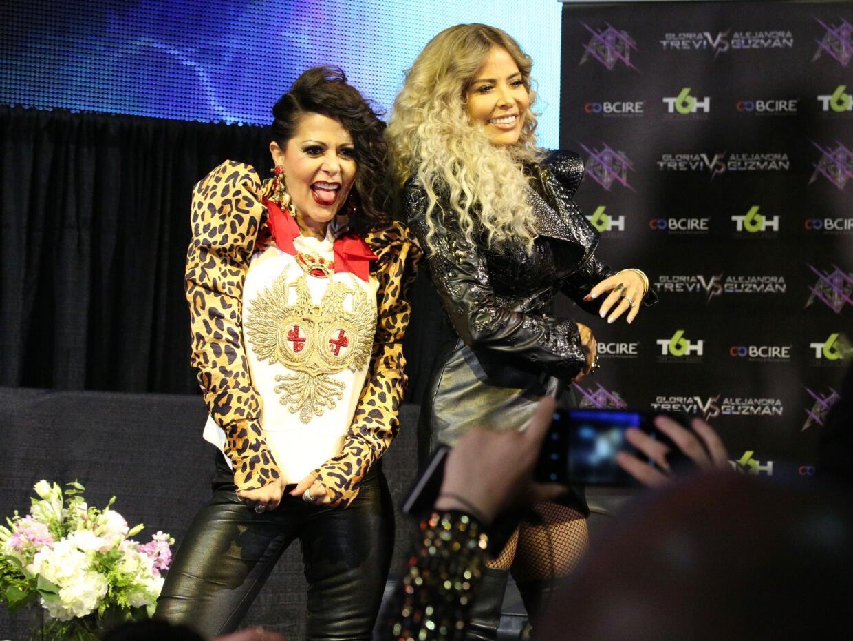 Alejandra Guzmán y Gloria Trevi
