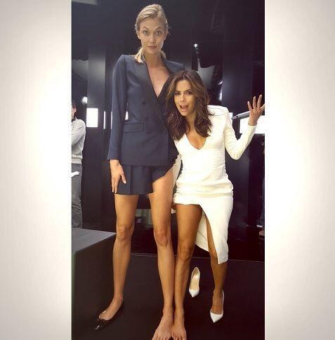 """""""¿Por qué Karlie Kloss ha nacido con estas piernas y yo no? No es justo...."""