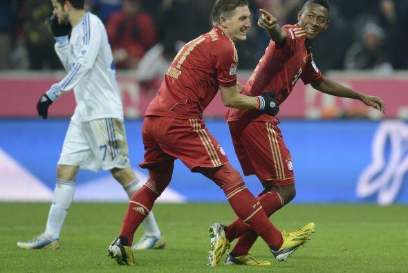 El futbolista del Bayern Munich se destapó con par de anotaciones para q...
