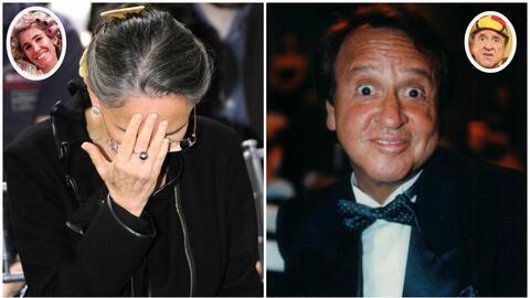 Florinda Meza se niega a emitir comentarios sobre su presunta relaci&oac...