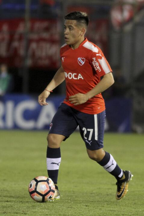17. Ezequiel Barco (Argentina / Independiente de Avellaneda)