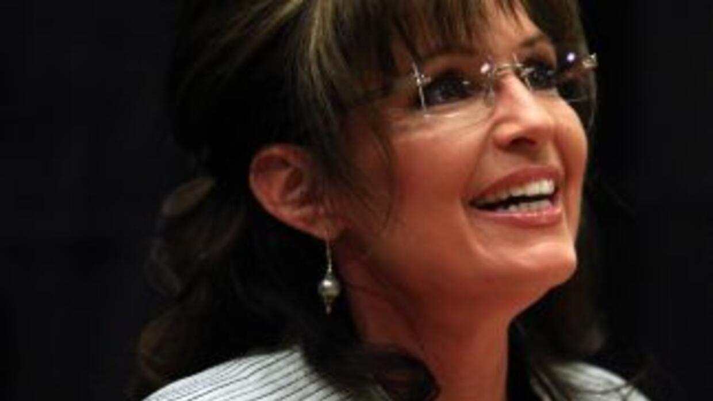 Sarah Palin metió la pata, otra vez.