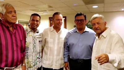 (Video) El 'Peje' rechaza la invitación a los Dodgers de Fernando Valenzuela y Magic Johnson