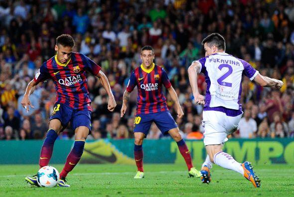 Neymar deja cada vez más pinceladas de su clase con el Barcelona.