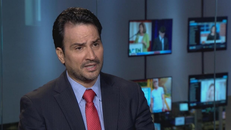 Yassir Purcait en entrevista con Univision Investiga.