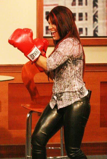 El padre de Diana es entrenador de boxeo y fue quien le enseñó a defende...