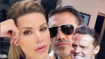 Desirée Ortiz, la novia de Luis Miguel, estuvo en casa de Alejandro Fern...
