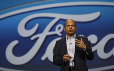 Raj Nair, presidente de Ford Motor Co. para América del Norte, de...