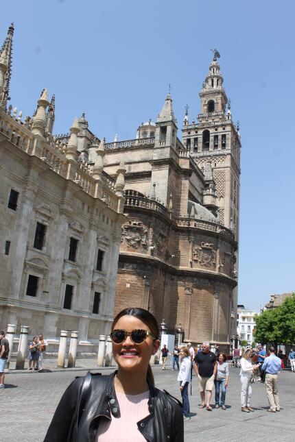 Estas son las fotos más bellas de Clarissa Molina en Sevilla IMG_4387.JPG