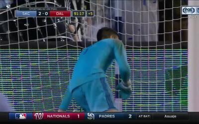 Zurdazo increíble de Gerso Fernandes cierra la victoria del Sporting Kan...