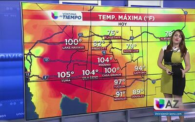 Temperaturas cálidas y cielos despejados