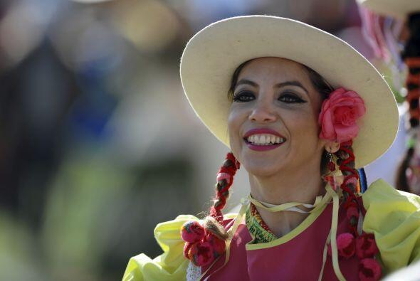 Las chilenas elijieron disfraces típicos.