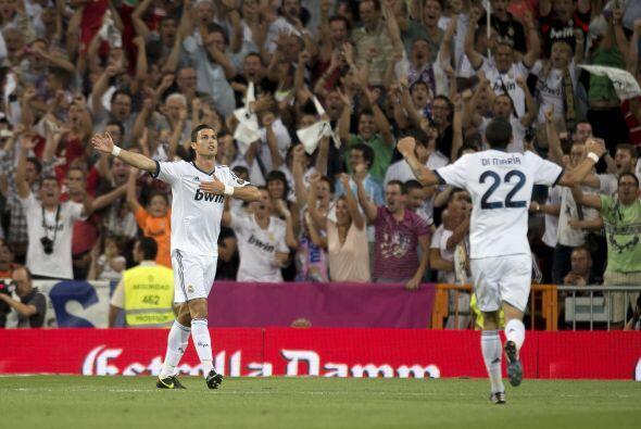 El líder del Madrid, Cristiano Ronaldo, era letal y marcaba el 2-0, nuev...