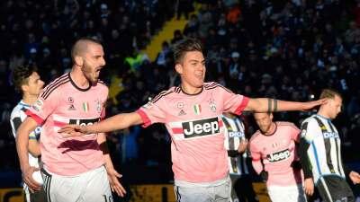Juventus, de la mano de Dybala, goleó a Udinese y se pone segundo en la Serie A