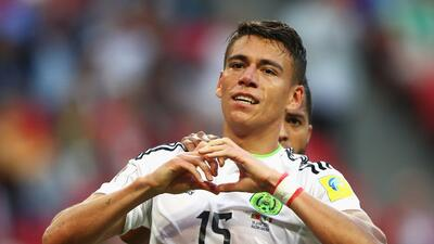 Héctor Moreno marcó el gol del empate de México ante Portugal