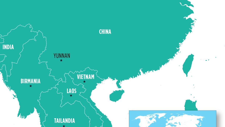 El Gran Mekong: Camboya, Laos, Birmania, Tailandia, Vietnam y la provinc...