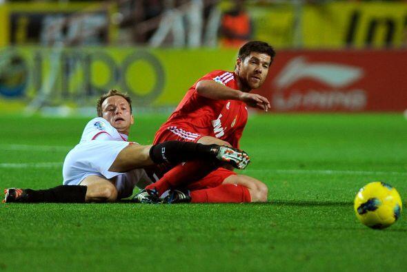 El Sevilla sintió el gol y fue al ataque. Puso en apuros a Casillas pero...