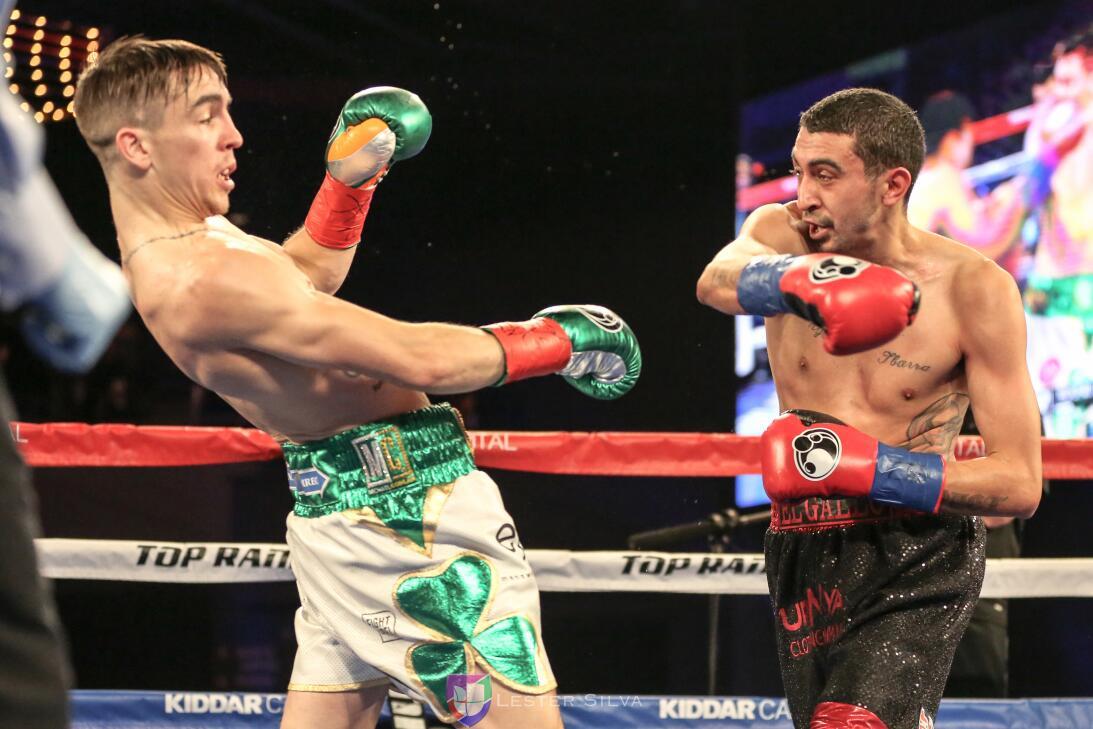 Michael Conlay vs. Tim Ibarra con Conor McGregor