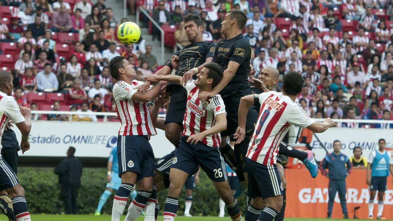 Pumas y Chivas protagonizarán el duelo más atractivo de la...