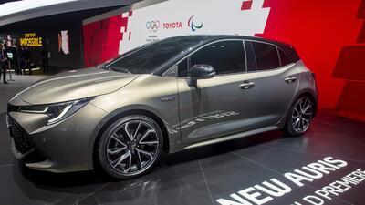 Toyota Auris, o Corolla iM como lo conocemos en EEUU, electrifica con su llegada a Ginebra