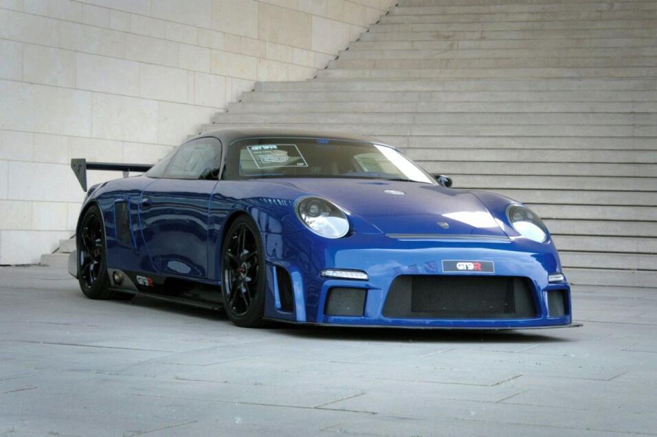 Puesto 5: el 9ffGT9-R Vmax es un rediseño sobre la base de un Porsche 91...