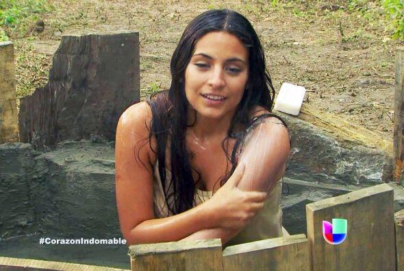 """Ana Brenda interpretaba a """"Maricruz"""", la protagonista de la historia."""