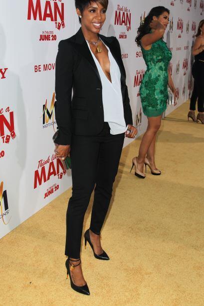 Kelly Rowland también le escribió a la cigueña este año. La actriz ya es...